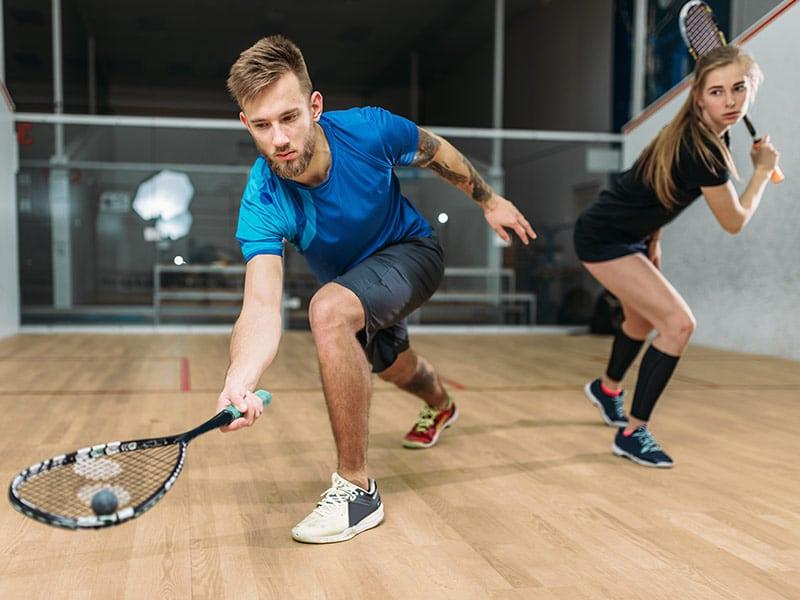 serrure connectée pour squash